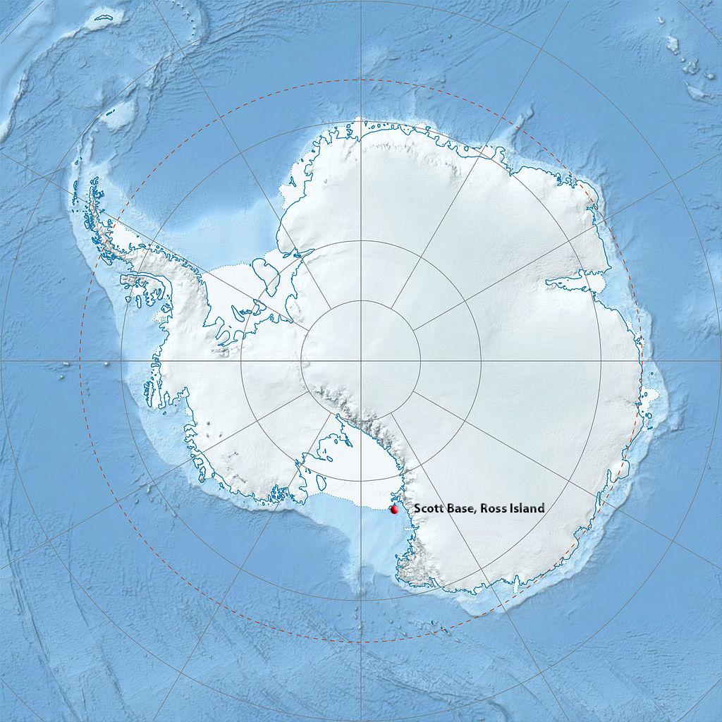 Scott Base map